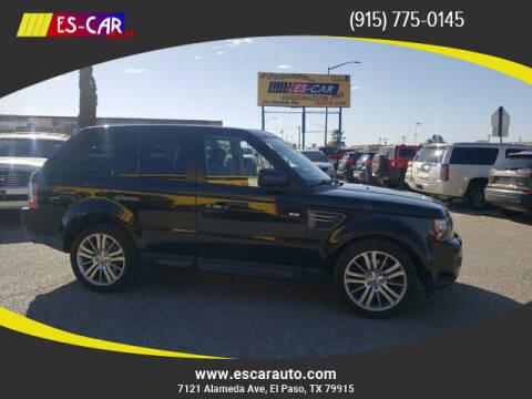 2011 Land Rover Range Rover Sport for sale at Escar Auto in El Paso TX