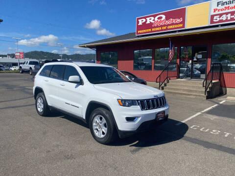 2017 Jeep Grand Cherokee for sale at Pro Motors in Roseburg OR