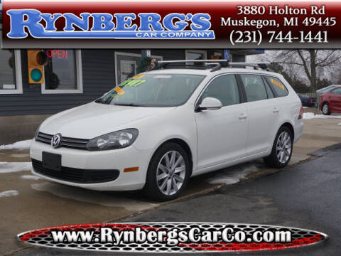 2012 Volkswagen Jetta for sale at Rynbergs Car Co in Muskegon MI