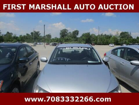 2011 Subaru Impreza for sale at First Marshall Auto Auction in Harvey IL