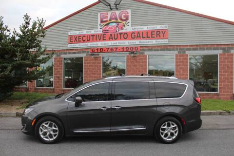 2019 Chrysler Pacifica for sale at EXECUTIVE AUTO GALLERY INC in Walnutport PA