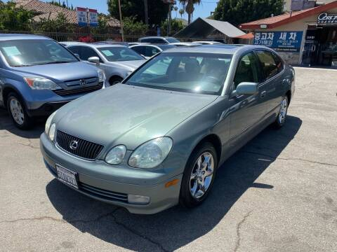 2002 Lexus GS 300 for sale at Orion Motors in Los Angeles CA