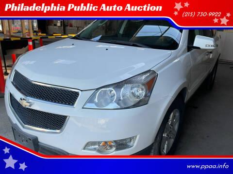 2012 Chevrolet Traverse for sale at Philadelphia Public Auto Auction in Philadelphia PA