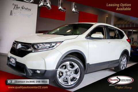 2017 Honda CR-V for sale at Quality Auto Center in Springfield NJ