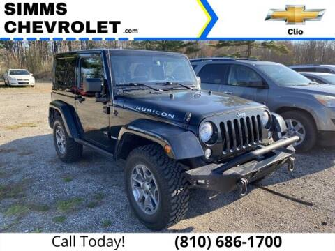 2015 Jeep Wrangler for sale at Aaron Adams @ Simms Chevrolet in Clio MI