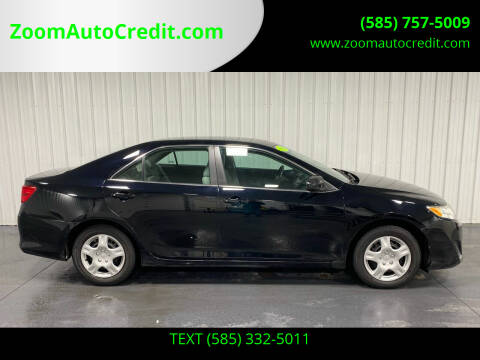 2012 Toyota Camry for sale at ZoomAutoCredit.com in Elba NY