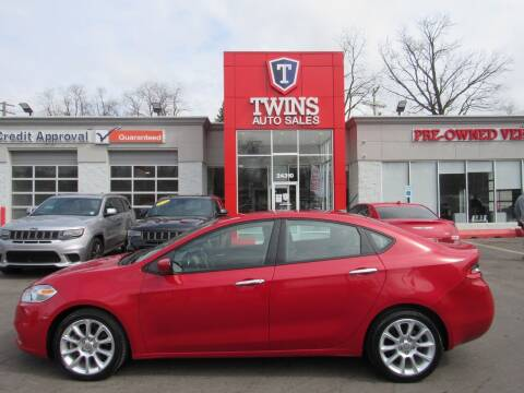 2013 Dodge Dart for sale at Twins Auto Sales Inc in Detroit MI