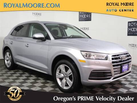 2018 Audi Q5 for sale at Royal Moore Custom Finance in Hillsboro OR