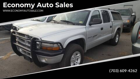 2001 Dodge Dakota for sale at Economy Auto Sales in Dumfries VA