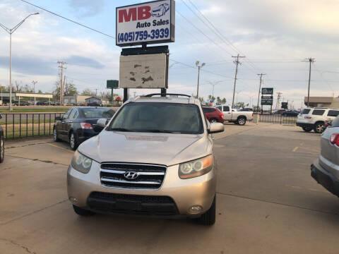 2007 Hyundai Santa Fe for sale at MB Auto Sales in Oklahoma City OK