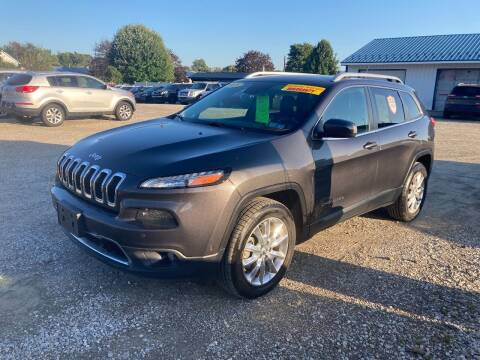 2015 Jeep Cherokee for sale at Corry Pre Owned Auto Sales in Corry PA