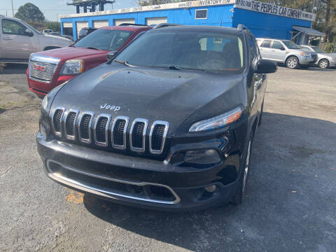 2014 Jeep Cherokee for sale at The Peoples Car Company in Jacksonville FL