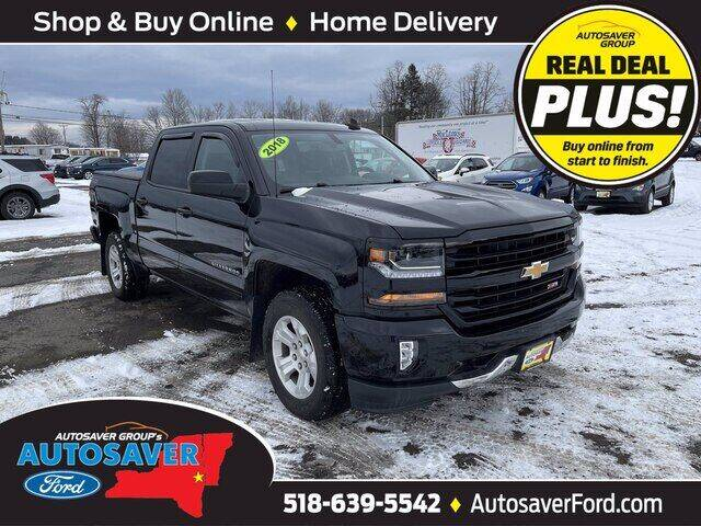 2018 Chevrolet Silverado 1500 for sale at Autosaver Ford in Comstock NY