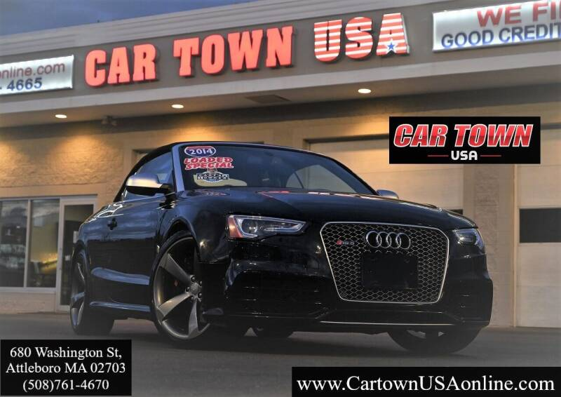 2014 Audi RS 5 for sale at Car Town USA in Attleboro MA