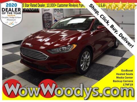 2017 Ford Fusion for sale at WOODY'S AUTOMOTIVE GROUP in Chillicothe MO