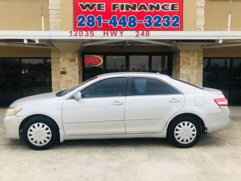 2010 Toyota Camry for sale at FREDYS CARS FOR LESS in Houston TX