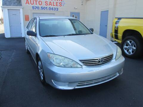 2005 Toyota Camry for sale at Small Town Auto Sales in Hazleton PA