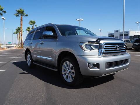 2020 Toyota Sequoia for sale at Gaudin Porsche in Las Vegas NV