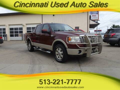 2007 Ford F-150 for sale at Cincinnati Used Auto Sales in Cincinnati OH