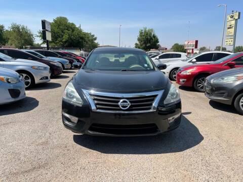 2015 Nissan Altima for sale at Top Gun Auto Sales, LLC in Albuquerque NM
