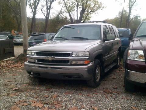 2000 Chevrolet Tahoe for sale at WEINLE MOTORSPORTS in Cleves OH