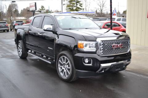 2017 GMC Canyon for sale at Nick's Motor Sales LLC in Kalkaska MI