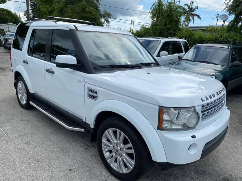 2012 Land Rover LR4 for sale in West Park, FL