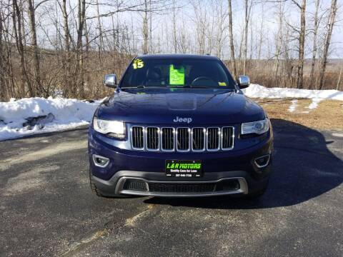2015 Jeep Grand Cherokee for sale at L & R Motors in Greene ME