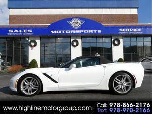 2014 Chevrolet Corvette for sale at Highline Group Motorsports in Lowell MA