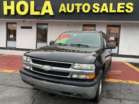 2004 Chevrolet Suburban for sale at HOLA AUTO SALES CHAMBLEE- BUY HERE PAY HERE - in Atlanta GA