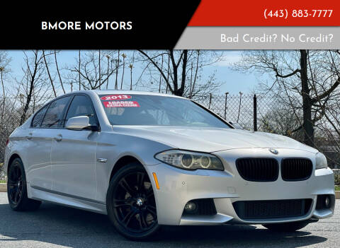 2013 BMW 5 Series for sale at Bmore Motors in Baltimore MD
