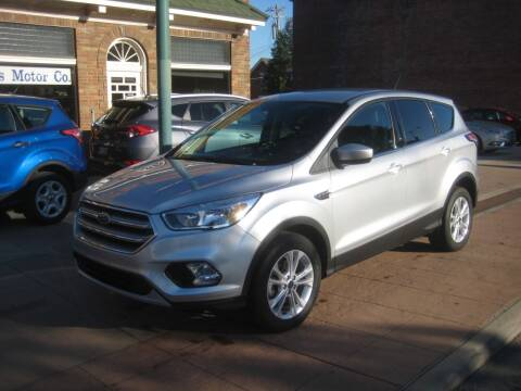 2017 Ford Escape for sale at Theis Motor Company in Reading OH