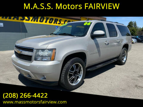 2009 Chevrolet Suburban for sale at M.A.S.S. Motors - Fairview in Boise ID