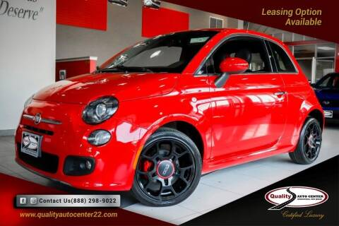 2015 FIAT 500 for sale at Quality Auto Center in Springfield NJ