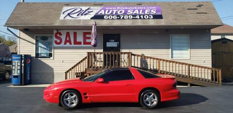 2002 Pontiac Firebird for sale at Ritz Auto Sales, LLC in Paintsville KY
