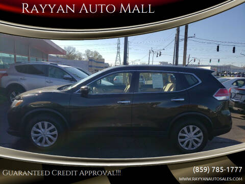 2015 Nissan Rogue for sale at Rayyan Auto Mall in Lexington KY