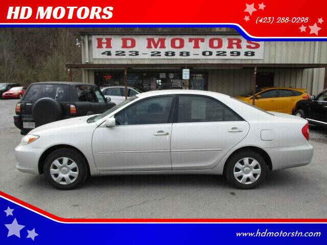 2003 Toyota Camry for sale at HD MOTORS in Kingsport TN