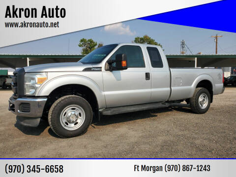 2013 Ford F-250 Super Duty for sale at Akron Auto - Fort Morgan in Fort Morgan CO