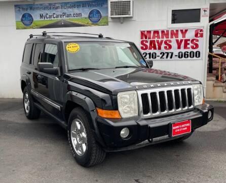 2006 Jeep Commander for sale at Manny G Motors in San Antonio TX