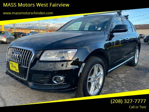 2016 Audi Q5 for sale at MASS Motors West Fairview in Boise ID
