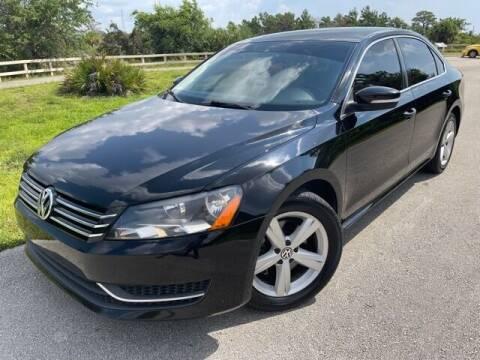 2013 Volkswagen Passat for sale at Deerfield Automall in Deerfield Beach FL