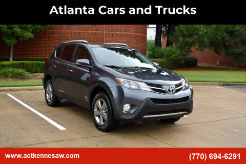 2015 Toyota RAV4 for sale at Atlanta Cars and Trucks in Kennesaw GA