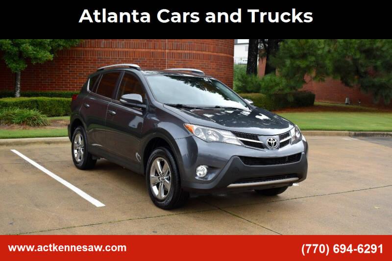 2015 Toyota RAV4 for sale at Atlanta Cars and Trucks in Kennesaw GA
