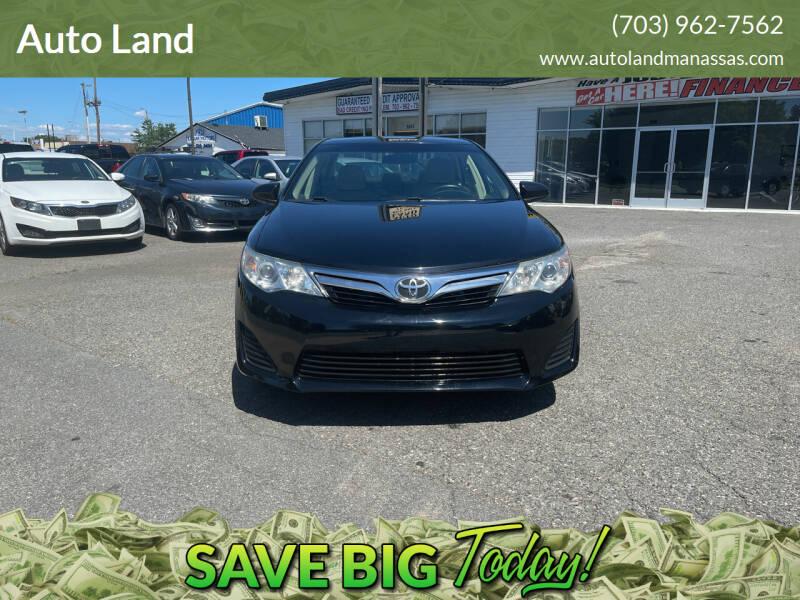 2013 Toyota Camry for sale in Manassas, VA