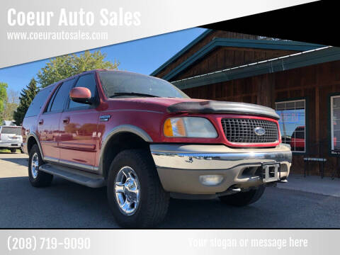 2000 Ford Expedition for sale at Coeur Auto Sales in Hayden ID