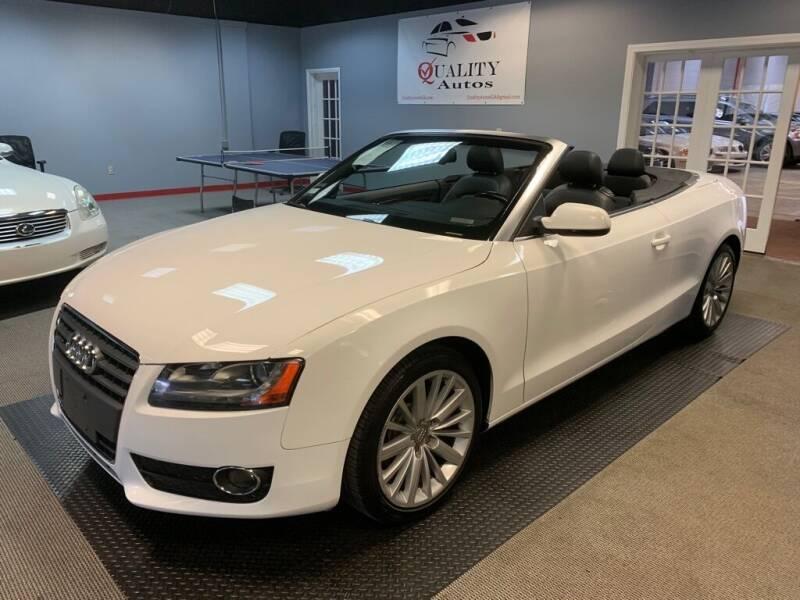 2011 Audi A5 for sale at Quality Autos in Marietta GA