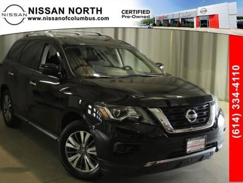 2018 Nissan Pathfinder for sale at Auto Center of Columbus in Columbus OH