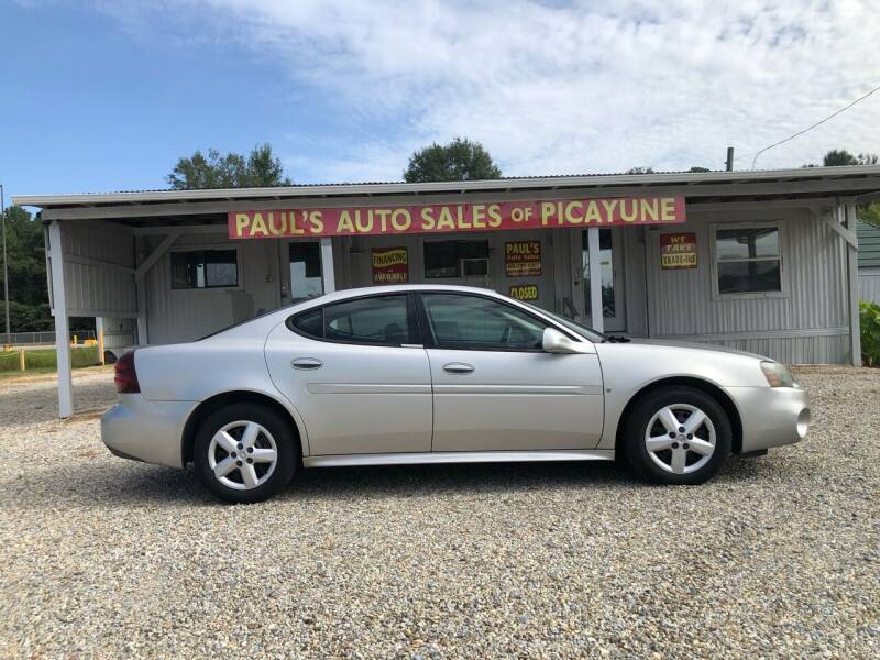 2006 Pontiac Grand Prix for sale at Paul's Auto Sales of Picayune in Picayune MS
