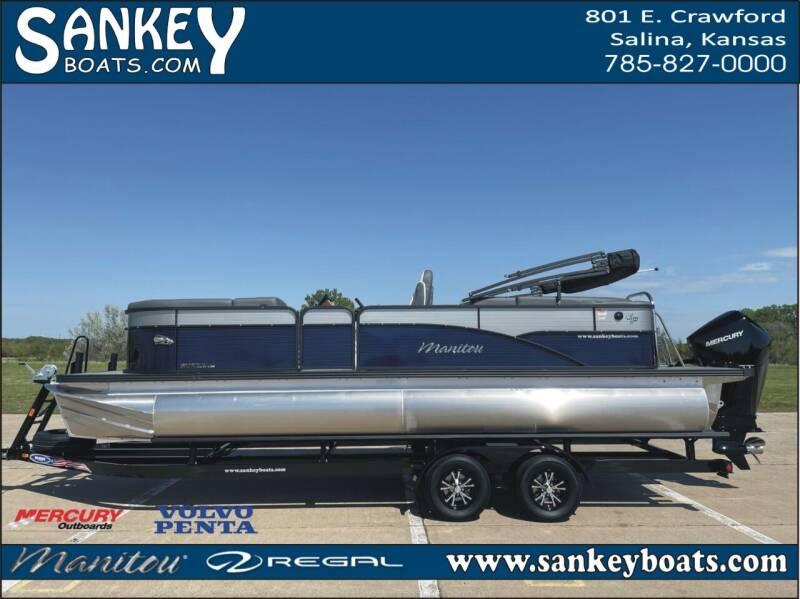 2021 Manitou 23 Aurora LE RF VPII Limited for sale at SankeyBoats.com in Salina KS