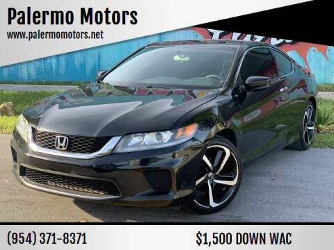 2014 Honda Accord for sale at Palermo Motors in Hollywood FL